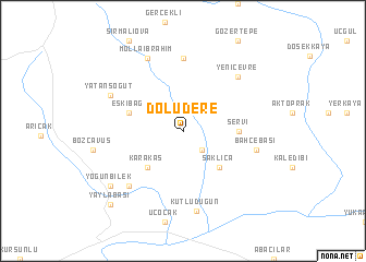 map of Doludere