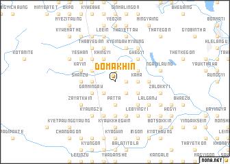 map of Domakhin
