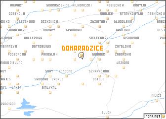 map of Domaradzice