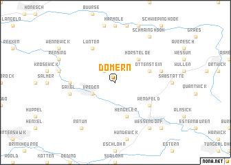 map of Dömern