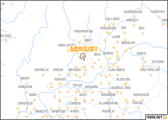 map of Domigiay