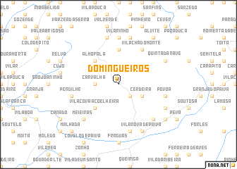 map of Domingueiros