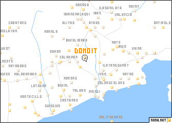 map of Domoit