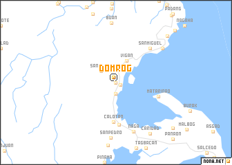 map of Domrog
