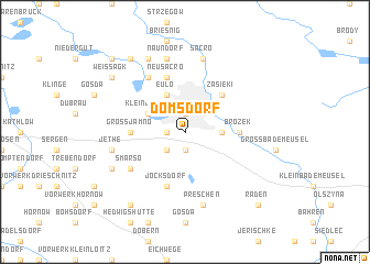 map of Domsdorf