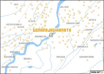 map of Dona Rāja Dīhanāth