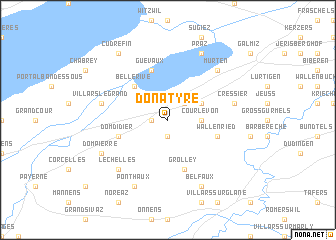 map of Donatyre