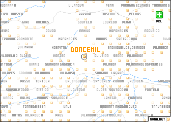 map of Doncemil