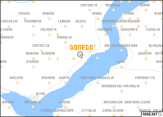 map of Donego
