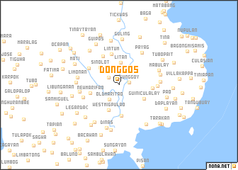 map of Donggos