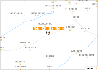 map of Donghuaizhuang
