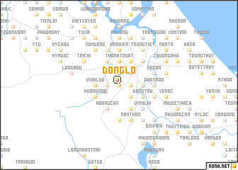 map of Ðông Lô