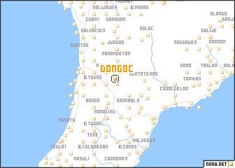 map of Doñgoc