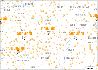 map of Donjani