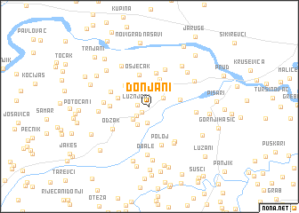 map of Donjani