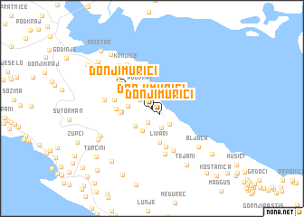map of Donji Murići