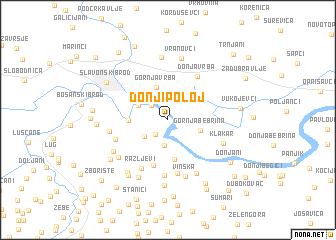 map of Donji Poloj