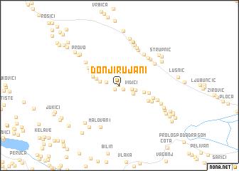 map of Donji Rujani