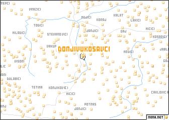 map of Donji Vukosavci