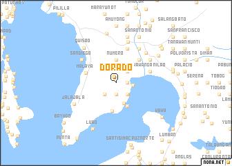 map of Dorado