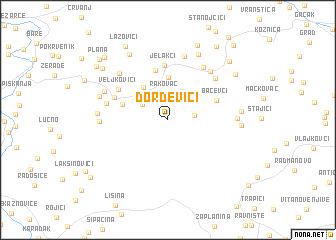 map of Ðorđevići