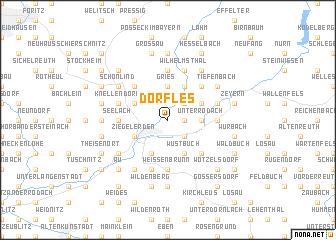 map of Dörfles
