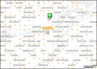 map of Dörfl