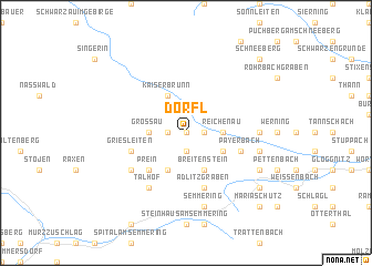 map of Dörfl