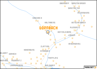 map of Dornbach