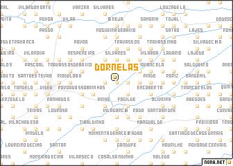 map of Dornelas