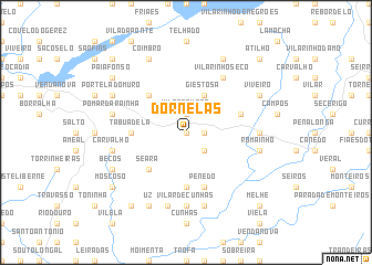 map of Dornelas