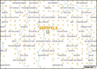 map of Dornfeld