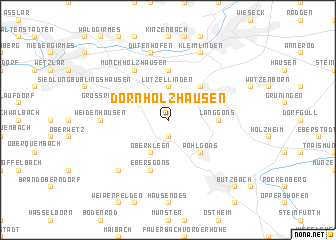 map of Dornholzhausen