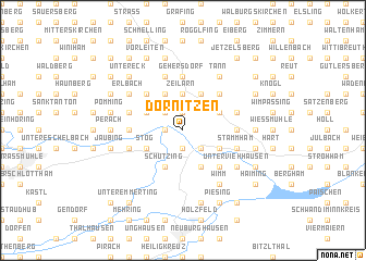 map of Dornitzen