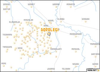 map of Dorolegi