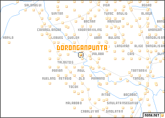 map of Dorongan Punta