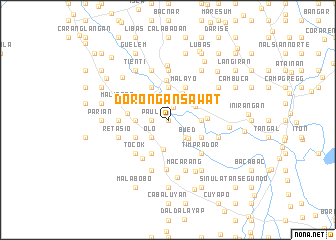 map of Dorongan Sawat