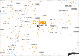 map of Ðorovići