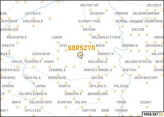map of Dorszyn