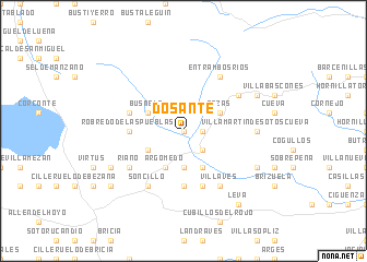 map of Dosante