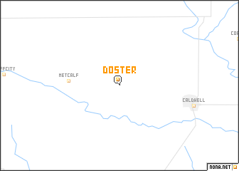 map of Doster