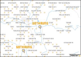 map of Dothaung