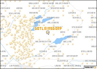 map of Dötleinsdorf