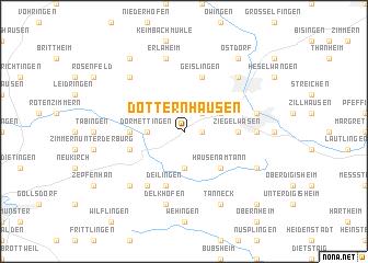 map of Dotternhausen