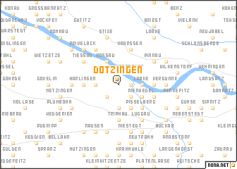 map of Dötzingen