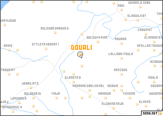 map of Douali
