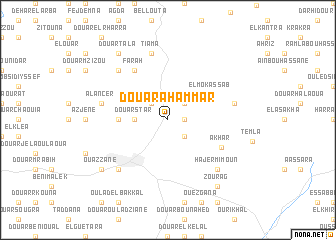 map of Douar Ahammar