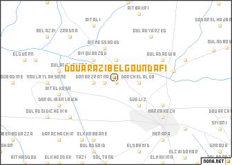 map of Douar Azib el goundafi