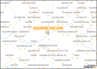 map of Douar Bchachma