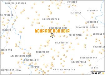 map of Douar Ben Doubia